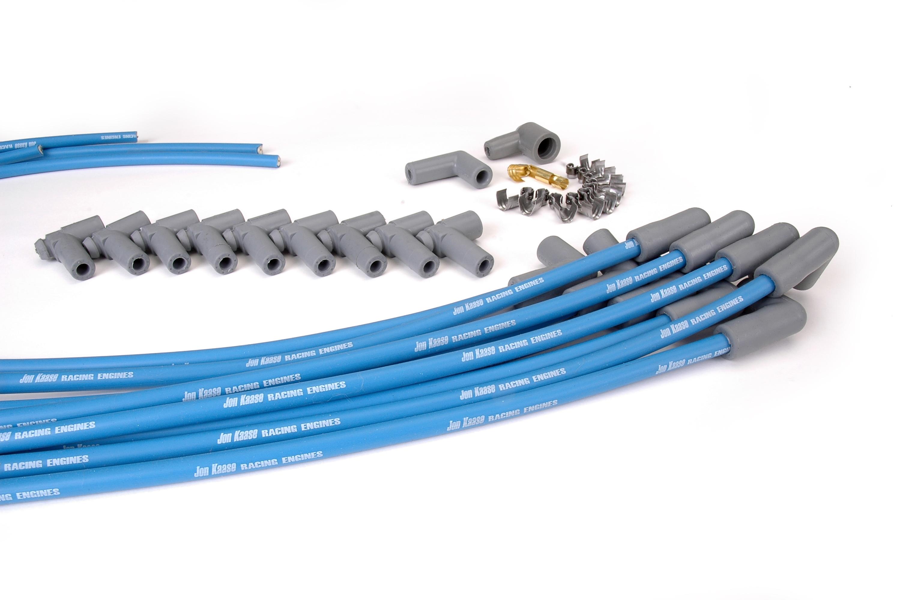 Kaase Logo Ignition Wires Jon Racing Engines Wiring